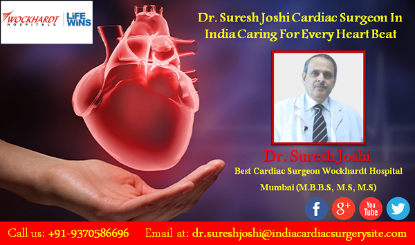 Dr. Suresh Joshi Cardiac Surgeon In India Caring For Every Heart Beat