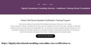 online cna certification California