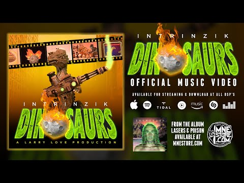 Intrinzik - Dinosaurs (Official Animated Music Video)