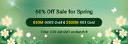 RSorder 60% off Sale for Spring 2021