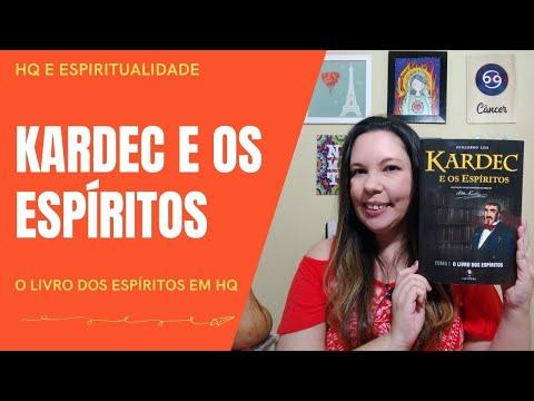 KARDEC E OS ESPÍRITOS: o livro dos espíritos em HQ