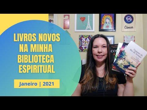 LIVROS NOVOS NA MINHA BIBLIOTECA ESPIRITUAL - Janeiro | 2021