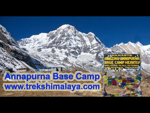 Spectacular Annapurna Base Camp