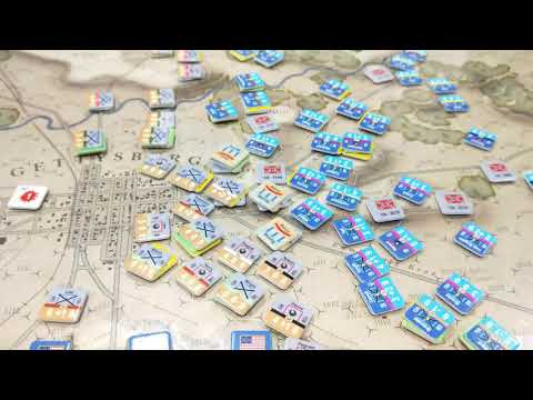 Battle of Gettysburg [Battle #2 - Report B] [2 July - Turns 15-End] - Battle Hymn