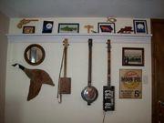 New home made shelf/ guitar hanger