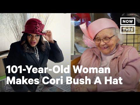 101-Yr-Old Hat Designer Ms. Vanilla Beane