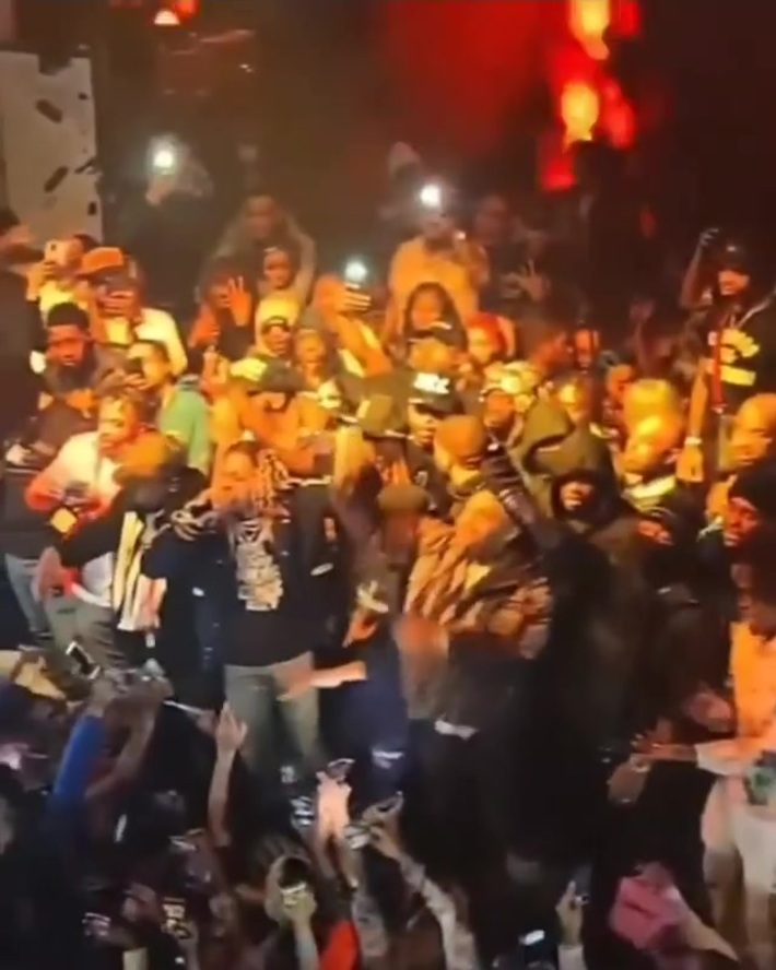 Lil Durk & Pooshiesty performing for All-star weekend
