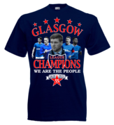 Rangers Champions T Shirts