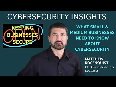 What SMBs Need to Know About Cybersecurity