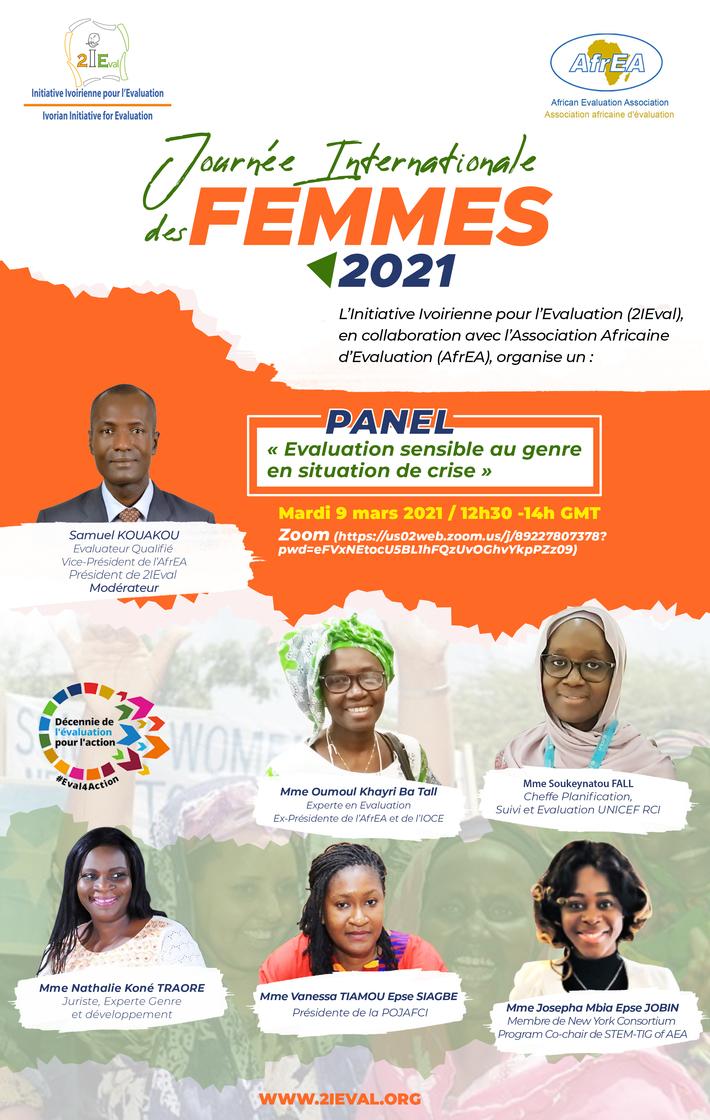 JOURNEE INTERNATIONALE DES FEMMES 2021