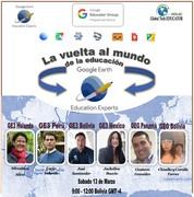 La vuelta al mundo de la educación con Google Earth