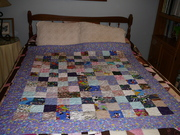 Scrappy Charm Donation Quilt 2021
