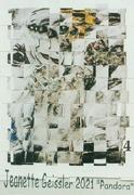 Jeanette Geissler - Pandora Variation 4 -  Collage 2021
