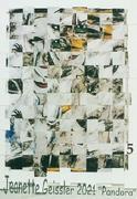 Jeanette Geissler - Pandora Variation 5 -  Collage 2021