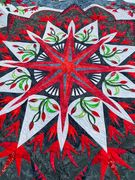 Valley Blossoms Center quilting