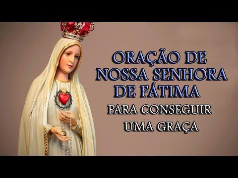 ORAÇÃO DE NOSSA SENHORA DE FÁTIMA PARA CONSEGUIR UMA GRAÇA