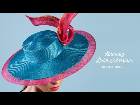 Sinamay Brim Extensions Course Preview
