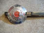 Hudson Terraplane hubcap diddley bow