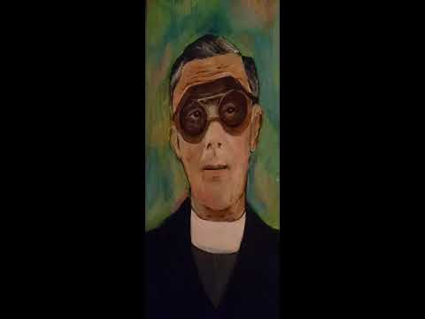 The priest with the goggles