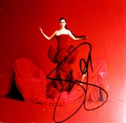 Selena Gomez signed Revelación CD insert