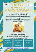 Skill building Coffee Break session with Ranjani Murthy