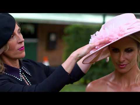 Ann Shoebridge Milliner - Pink Fashion Lunch