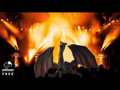 Rex The Dragon pyro stage