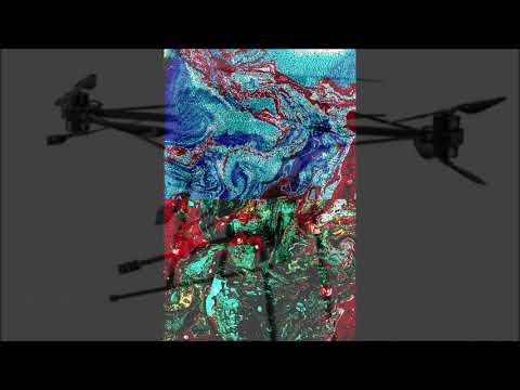 "Flowing Flavio Drone no 2        ""Cally Fest ""  BoneDiggers      A. D. Eker 2021"