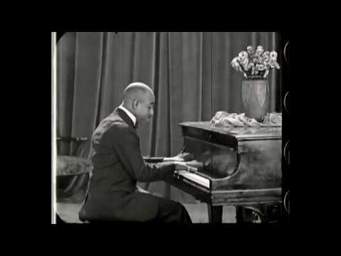 EUBIE BLAKE: DeForest Phonofilm, 1923.