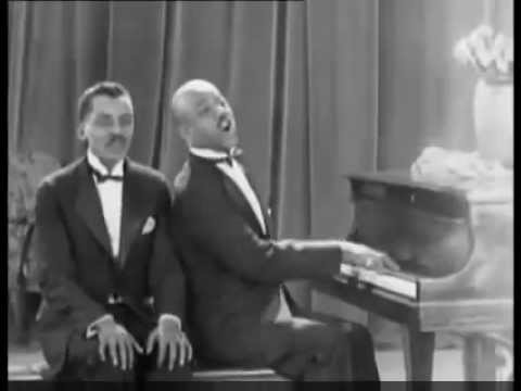 (1923) Very early music clip - Noble Sissle and James Hubert Blake - Snappy Tunes
