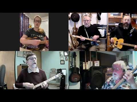 I Saw the Light: 3-String Panhandler Guitar