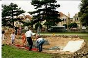 1993 August pond construction 8