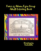 Fans of Adam Ezra Group Adult Coloring Book