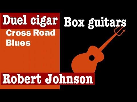 Robert Johnson's Crossroad blues Duel 3 String Cigar Box Guitars