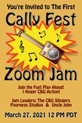 COMING SOON: The First Cally Fest Zoom Jam