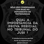 PROVA PERICIAL NO TRIBUNAL DO JÚRI (IPCCERJ)