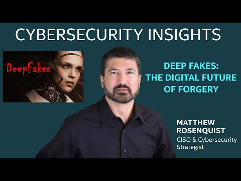 DeepFakes – the Digital Future of Forgery