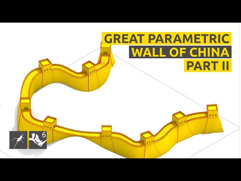 How to make the Great Parametric Wall of China - Part II - Rhino/Grasshopper Tutorial