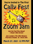 1st CallyFest Zoom Jam