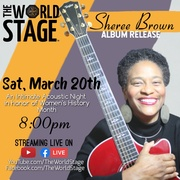 """SHEREE BROWN """"Intimate Acoustic"""" *updatez* [The 1st Night of Spring]"""