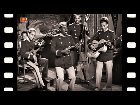 LEO WATSON & The Four Spirits Of Rhythm  - Tom Tom The Elevator Boy (1941) HD