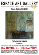 Affiche Marie Céline BONDUE