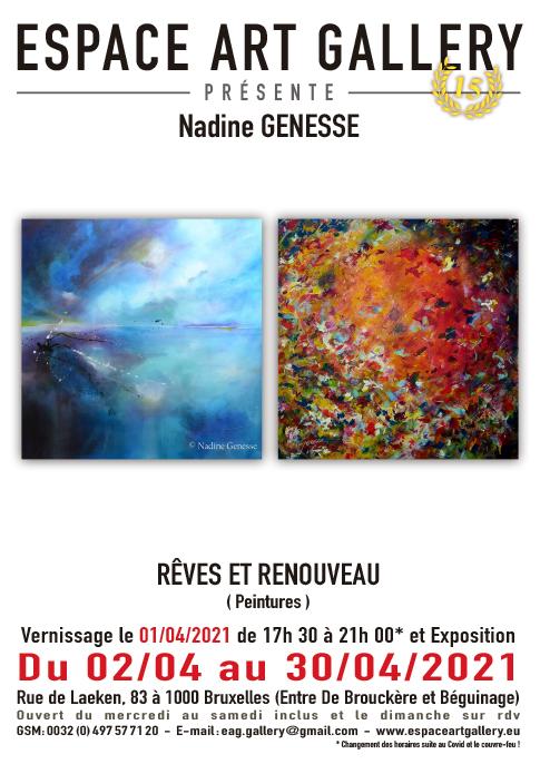 Affiche Nadine GENESSE