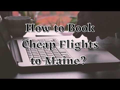 Book Cheap Maine Flights | PORTLAND | +1-844-868-8303