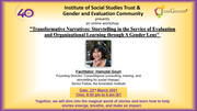 """""""Transformative Narratives: Storytelling in the Service of Evaluation and Organizational Learning through A Gender Lens"""""""
