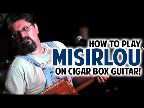 How to Play Misirlou on Cigar Box Guitar by Shane Speal