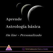 Aprende Astrología básica en Tres Mancias