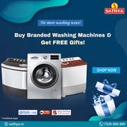 Washing Machine Sale - Sathya Online Shopping