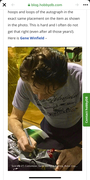 """9 HobbyDB article """"10 Golden Rules On How To Collect Autographs Properly"""""""