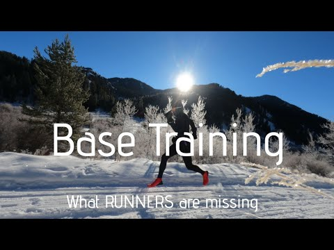 What YOU are MISSING in your RUN BASE TRAINING (+ winter snow running)